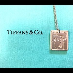 Tiffany & Co. Nike Woman's Marathon 09 Pendant 💙